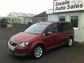 2010 VOLKSWAGEN TOURAN MATCH 1.9TDI ONLY 37,542 MILES FULL SERVICE HISTORY