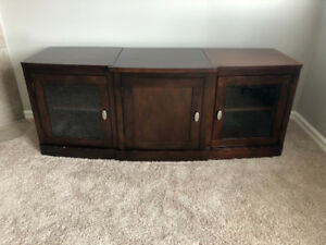 Entertainment Center, solid wood