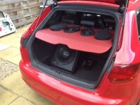 Theloudest speakers 2000w each 6x9