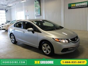 2015 Honda Civic LX A/C Gr-Électrique Cam Bluetooth