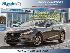2018 Mazda Mazda3 GS  (Unlimited KM Warranty)