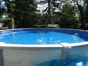 ****Get ready for summer with this 21ft salt water system pool