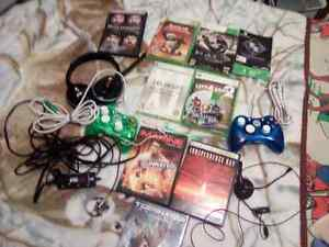 Xbox 360 2 controllers lots of games Peterborough Peterborough Area image 4