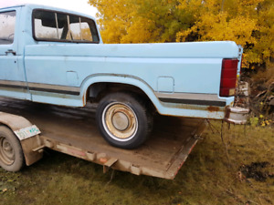 1980 ford f150 with a almost rust free body open to offer