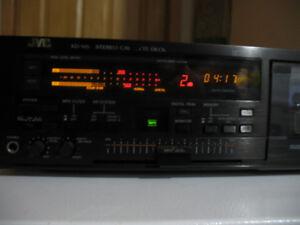 JVC 3 Head Stereo Cassette Deck