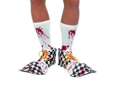 Blutig Clown Schuhe Halloween Horror Accessoire Bloody - Halloween Clown Schuhe