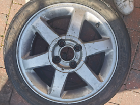 Ford cougar wheels 16 4x108 et46 NO TYRES