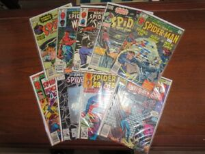 Vintage Spider-Man Comic Book Collection Lot
