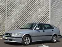 2001/51 SAAB 9-3 2.0t AUTOMATIC SE 5DOOR HATCH - ONLY 65000 MILES - FULL HISTORY