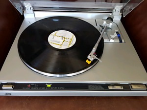 JVC Stereo Direct Drive Turntable Record Player