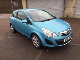 2011 Vauxhall Corsa 1.3CDTi 16v eco Diesel Exclusive 3 Door China Blue Metallic