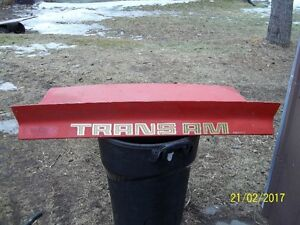 1977 Pontiac Trans-am/Firebird Trunk lid