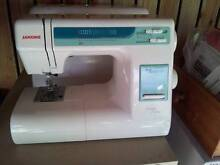 Sewing Machine - Janome MyExcel18W - AS NEW Freshwater Cairns City Preview