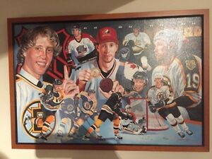 Joe Thornton hockey painting