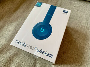 BNIB - Beats Solo 3 POP Blue Wireless Headphone