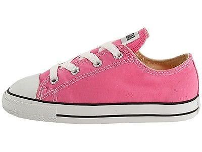 Pink Chuck Taylors For Toddlers (CONVERSE CHUCK TAYLOR PINK /WHITE LOW TOP CANVAS FOR BABY AND TODDLERS)