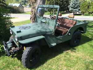 1951 Willys CJ-3A Universal Jeep for sale