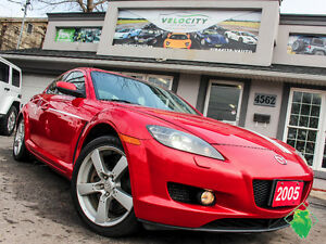 '05 Mazda RX-8 GT+BOSE+6-Speed+HeatedSeats+MINT! Only $58/Pmts!!