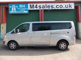 Ford Tourneo Custom 125ps,9st n/shape ltd model Minibus.