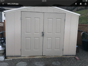 10 X 10 insulated shed
