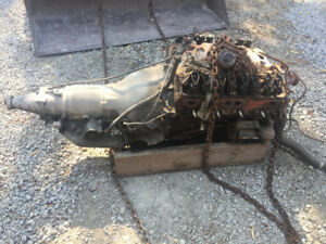 3970014 Chevrolet Camaro cast engine transmission all original