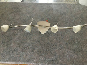 4 light halogen wall or ceiling