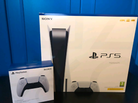 PS5 DISK EDITION + Extra Controller *NEW SEALED*