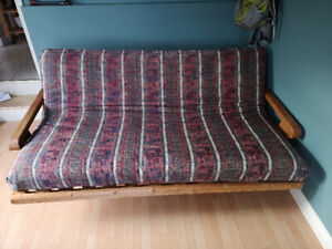 queen size futon firm mattress