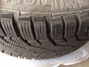 Gislaved Nord Frost 100 Winter Tires And Rims - 215/60 R16
