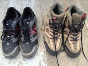 Steel Toe Shoes $50 for both Size 9