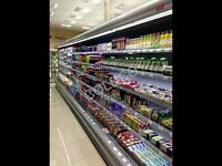 COMMERCIAL REFRIGERATION CHILLER FRIDGE FOR GROCERY SHOP OFFLICENCE CHILLED DISPLAY FRIDGE