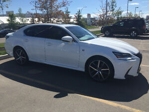 2016 Lexus GS, F-sport Sedan