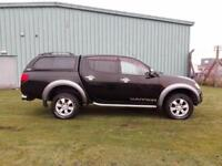 2007 56 plate Mitsubishi L200 2.5DI-D 4WD Double Cab Pickup Warrior ONLY 60K