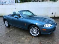 Mazda 2005 MX-5 Artic Edition 1.6i Petrol Manual Convertible in Blue