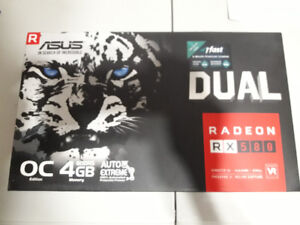 Brand New ASUS RX 580 4GB