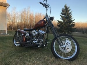 Custom Rigid Chopper with springer front end
