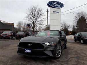 2018 Ford Mustang GT Premium*Convertible, Leather, NAV*