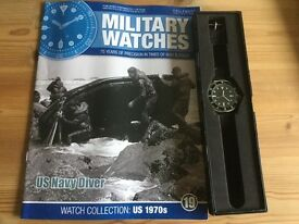 Military watches collection - US Navy Diver 1970s