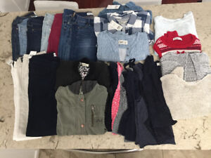 Girl's Abercrombie clothing-size 10 and 12