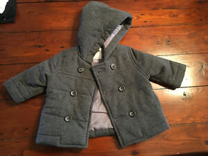 3-6 month Grey spring/fall jacket