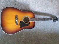 Acoustic guitar.