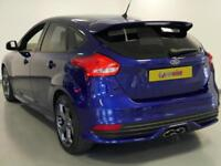 2015 Ford Focus 2.0 TDCi 185 ST-2 5dr Diesel blue Manual