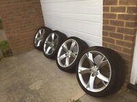"AUDI ALLOY WHEELS WANTED - MINIMUM 16"" - CASH WAITING FOR RIGHT SET AT RIGHT PRICE"