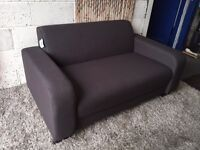 New Grey Fabric 2 Seater Sofa