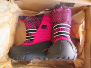 brand new in box toddler girls SOREL winter boots & PUMA shoes