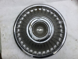 Classic Chevy hubcap