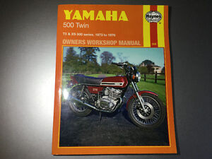 Yamaha 500 Twins 1973-1976 Shop Manual TX500 XS500 XS500C