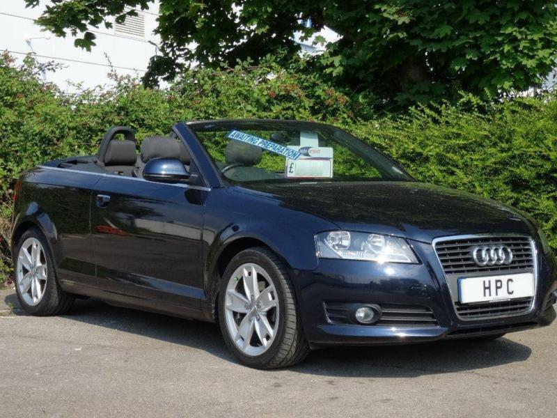 2009 audi a3 cabriolet 1 6 sport 2dr in portsmouth hampshire gumtree. Black Bedroom Furniture Sets. Home Design Ideas