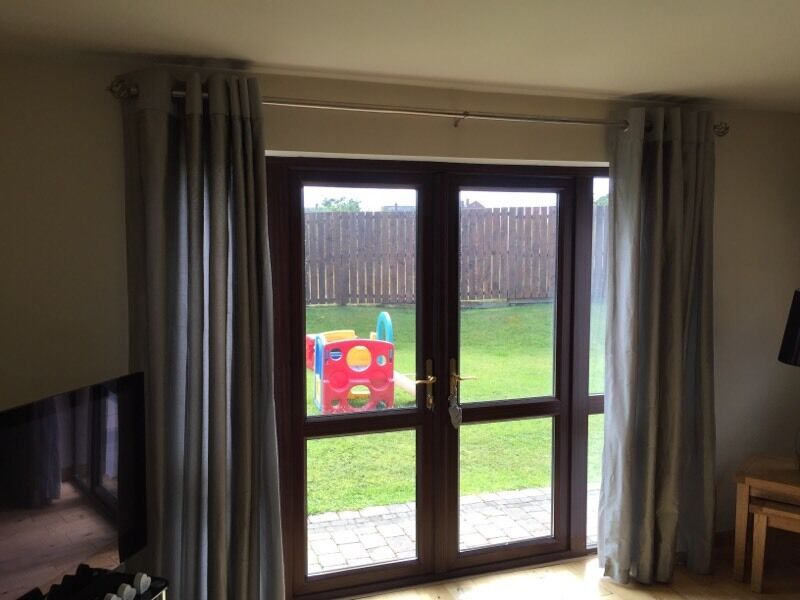 Silver NEXT Curtains In Castlereagh Belfast Gumtree