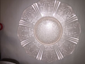 Blush Rose Antique Serving Platter